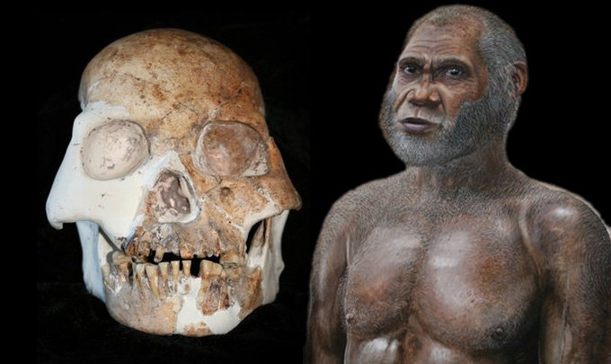 SPIRITUALITY SCIENCE - HUMAN EVOLUTION: HOMO SAPIENS RED DEER DISCOVERED IN MALUDONG OR RED DEER CAVE, YUNNAN PROVINCE, SOUTHERN CHINA HAD LIVED FROM 14,500 TO 11,500 YEARS AGO. RED DEER CAVE PEOPLE ARE NOT CLASSIFIED AS MODERN HUMANS.