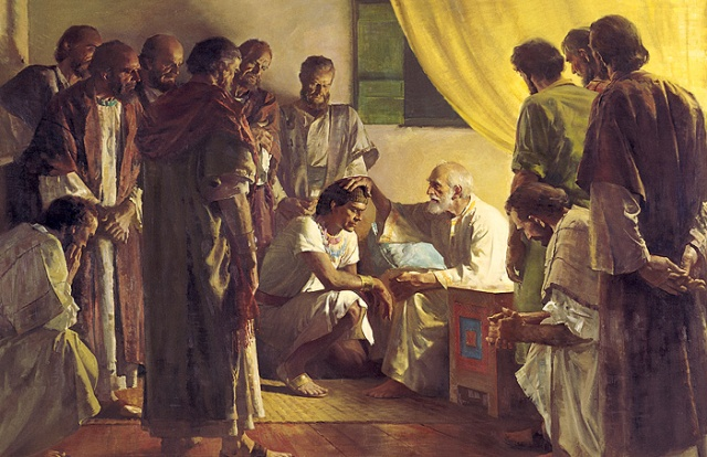 SPIRITUALITY SCIENCE - THE PROMISE OF GOOD OLD AGE: JACOB WHO IS ALSO KNOWN AS ISRAEL(PRINCE OF GOD) IS A GREAT NAME IN HEBREW HISTORY. HE LIVED FOR 147 YEARS. IN THIS PAINTING, JACOB IS SEEN BLESSING HIS SON JOSEPH. IN SPITE OF THESE BLESSINGS, JOSEPH LIVED TO THE AGE OF ONLY 110, THE SHORTEST LIFE-SPAN AMONG BIBLICAL HEBREW PEOPLE WHOSE LEGACY STILL LIVES.