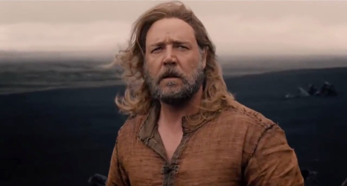 SPIRITUALITY SCIENCE - THE PROMISE OF GOOD OLD AGE: THIS IS THE PICTURE OF RUSSELL CROWE AS NOAH IN THE HOLLYWOOD MOVIE. NOAH IS THE FIRST HEBREW MAN WITH WHOM GOD HAD ENTERED INTO A COVENANT AFTER GOD MADE HIS DECISION ABOUT MAN'S MORTAL LIFE-SPAN.