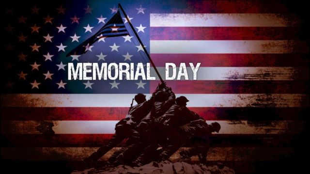 WHOLE BODY - WHOLE LOVE - WHOLE HOLIDAY: THE LAST MONDAY IN MAY IS OBSERVED AS MEMORIAL DAY IN MEMORY OF THE DEAD SERVICEMEN OF ALL WARS.