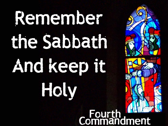 "WHOLE BODY - WHOLE LOVE - WHOLE HOLIDAY: THE OLD TESTAMENT BOOK OF EXODUS, CHAPTER 20, VERSE#8 IS THE FOURTH COMMANDMENT THAT ASKS, ""REMEMBER THE SABBATH DAY BY KEEPING IT HOLY."""