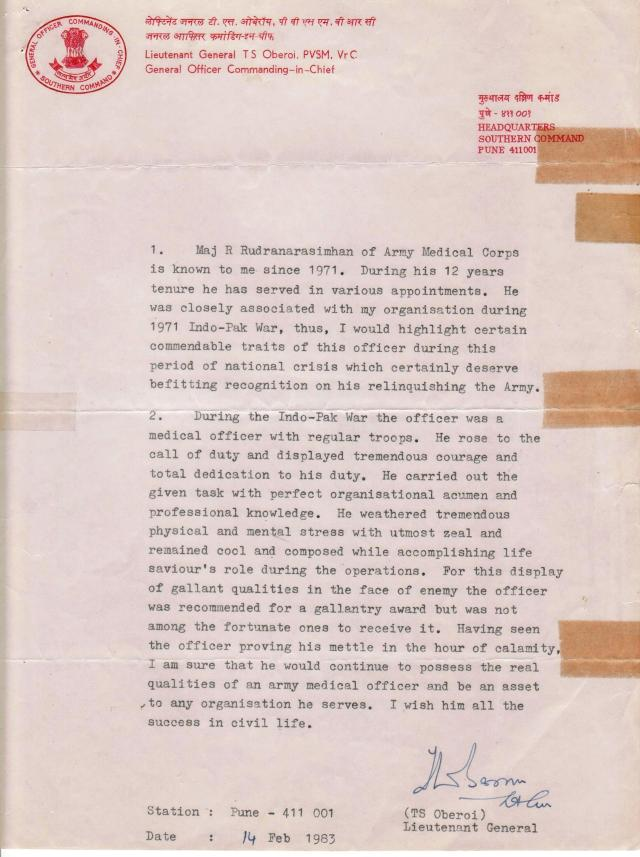 SPECIAL FRONTIER FORCE - THE OFFICIAL SECRETS ACT: GOVERNMENT OF INDIA CANNOT IMPOSE THE RULES OF  THE OFFICIAL SECRETS ACT AND DEMAND THAT I SHOULD NOT SHARE INFORMATION ABOUT SPECIAL FRONTIER FORCE, THE MILITARY ORGANIZATION IN WHICH I HAD SERVED UNDER THE COMMAND OF BRIGADIER T S OBEROI WHO GOT PROMOTED TO THE RANK OF MAJOR GENERAL AND SERVED AS THE INSPECTOR GENERAL OF SPECIAL FRONTIER FORCE.