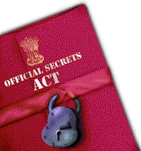 SPECIAL FRONTIER FORCE - THE OFFICIAL SECRETS ACT: THE ACT MAY PROHIBIT THE SHARING OF CERTAIN KINDS OF INFORMATION AND AT THE SAME TIME IT DEMANDS TO REMEMBER THE AFFILIATION WITH GOVERNMENT OF INDIA AND ITS ORGANIZATIONS DURING THE ENTIRE LIFETIME WITHOUT ANY TIME LIMITS.