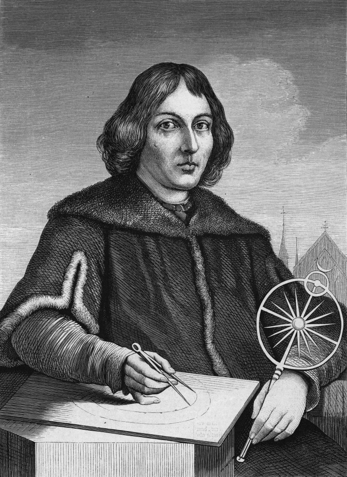 WHAT WOULD KRISHNA DO?: NICOLAUS COPERNICUS(1473-1543), POLISH ASTRONOMER DESCRIBED THE HELIOCENTRIC SOLAR SYSTEM, THE SUN IS THE CENTER OF THE SOLAR SYSTEM.