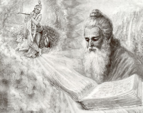 SPIRITUALITY SCIENCE - CYCLICAL FLOW OF TIME - HUMAN NATURE AND HUMAN BEHAVIOR: SAINT-POET VEDA VYASA MADE PREDICTIONS ABOUT SIGNIFICANT CHANGES IN HUMAN ATTITUDES AND BEHAVIOR DURING THE TIME PERIOD CALLED KALI YUGA. HE RECOMMENDED THE USE OF THE DIVINE NAME KRISHNA AS A REMEDY TO TREAT THE SICKNESS CAUSED BY THE POLLUTING EFFECTS OF KALI YUGA.