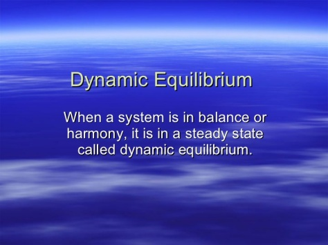 "SPIRITUALITY SCIENCE - WHOLE DYNAMICS - WHOLE EQUILIBRIUM: HUMAN EXISTENCE DEMANDS A BALANCE OR HARMONY TO MAINTAIN A STEADY STATE CALLED DYNAMIC EQUILIBRIUM OR ""WHOLE EQUILIBRIUM."""