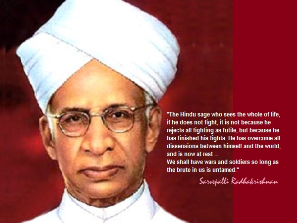 SPIRITUALITY SCIENCE - ESSENCE - IDENTITY - UNITY - EXISTENCE: I RECOGNIZE THE IDENTITY OF THE PERSON AND DESCRIBE HIM AS DR. SARVEPALLI RADHAKRISHNAN FOR MAN ALWAYS EXISTS WITH A DIFFERENTIATED FORM THAT IS GIVEN A PROPER NAME. THIS INDIAN PHILOSOPHER HAD INTERPRETED INDIAN SCHOOLS OF THOUGHT IN SEVERAL BOOKS THAT HE HAD AUTHORED. IN MY OPINION, HE DID NOT EMPHASIZE THE IMPORTANCE OF UNITY AND EXISTENCE IN HIS ANALYSIS OF THE MEANING OF GOD(BRAHMAN) AND SOUL(ATMAN OR JEEVATMA).