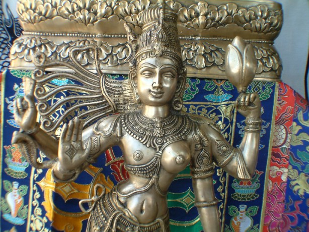 """SPIRITUALITY SCIENCE - ESSENCE AND EXISTENCE - CHIDAMBARA RAHASYAM: LORD SHIVA'S ESSENCE IN THIS IMAGE IS DESCRIBED AS """"ARDHANARISHWARA"""", HALF-MALE AND HALF-FEMALE, A PERFECT UNION OF MATTER, ENERGY, AND THE ENERGY CONTROLLER."""
