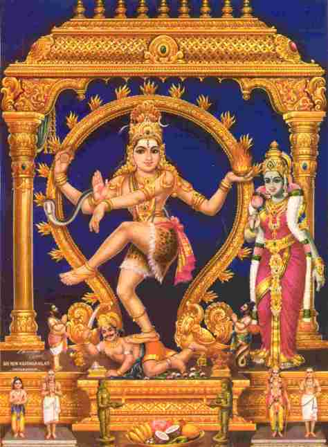 SPIRITUALITY SCIENCE - ESSENCE AND EXISTENCE: CHIDAMBARA RAHASYAM - THE GREAT MYSTERY OF CHIDAMBARAM. LORD NATARAJA DESTROYS MAN'S IGNORANCE TO RELEASE MAN FROM THE INFLUENCE OF COSMIC ILLUSION.