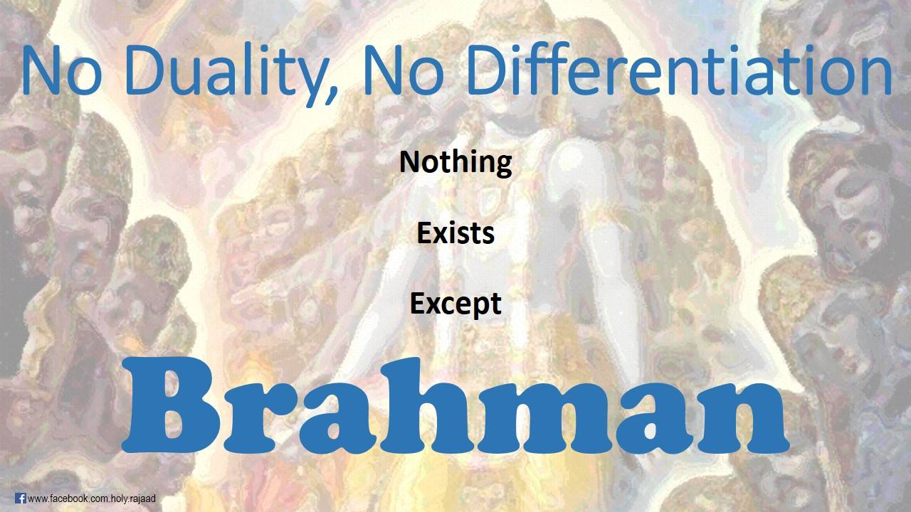 """SPIRITUALITY SCIENCE - AHAM BRAHMASMI - UNITY VS IDENTITY : THE THOUGHTS OF VARIOUS INDIAN THINKERS HAVE TO BE CAREFULLY INTERPRETED. EVERYTHING THAT EXISTS IS NOT EXACTLY THE SAME OR IDENTICAL TO BRAHMAN. IT WILL BE CORRECT TO INTERPRET THE ABOVE STATEMENT IN THE CONTEXT OF UNITY BETWEEN ORDERS LIKE GOD, ENERGY, MATTER, AND LIVING THINGS. THIS UNITY OR EIKYATA IS THE FUNDAMENTAL BASIS FOR EXISTENCE AND IS CALLED """"ASMI"""" TO DESCRIBE BRAHMAN AS THE 'CAUSE' OF EXISTENCE."""