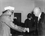 special frontier force at rashtrapati bhavan luncheon party eisenhower