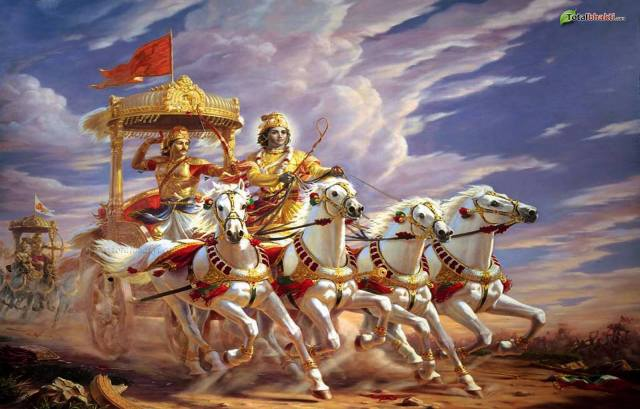 THE ART OF SPIRITUAL LIVING : THE DIVINE SONG, THE BHAGAVAD GITA, CHAPTER III, KARMA YOGA, VERSE#5 STATES THAT ALL MEN ARE FORCED TO ACT HELPLESSLY ACCORDING TO THE IMPULSES BORN OF THE MODES OF MATERIAL NATURE OR PRAKRIT.
