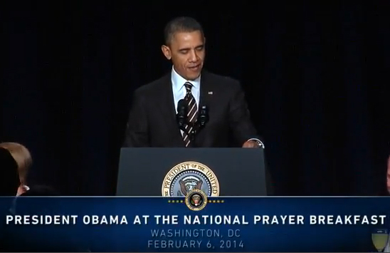 SPECIAL FRONTIER FORCE AT NATIONAL PRAYER BREAKFAST :