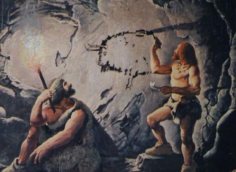MENDEL'S  LAWS  OF  INHERITANCE  VS  HUMAN  EVOLUTION :  CRO-MAGNON  MAN  AND  PRECISION  GRIP .
