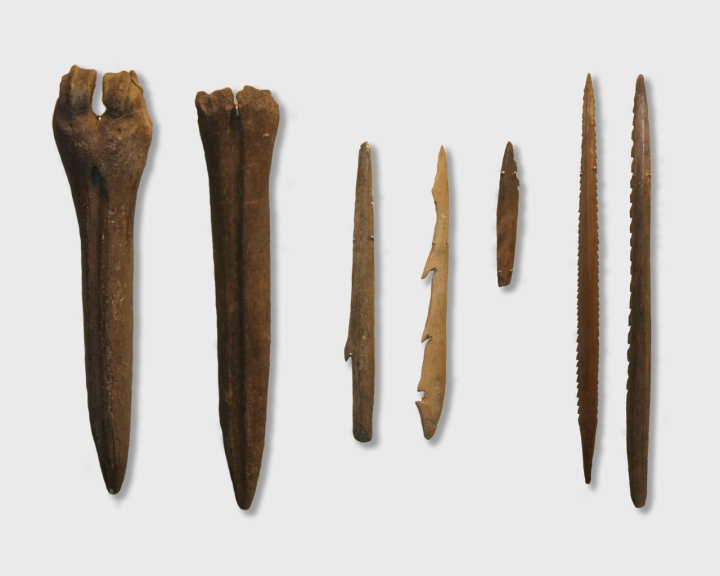 MENDEL'S  LAWS  OF  INHERITANCE  VS  HUMAN  EVOLUTION  :  KUNDA  TOOLS ,  MICROLITHS, c. 10,000 -c.8000 B.C. MESOLITHIC  PERIOD  OR  MIDDLE  STONE  AGE .  THE  BEGINNING  OF  ANATOMICALLY  MODERN  MAN .