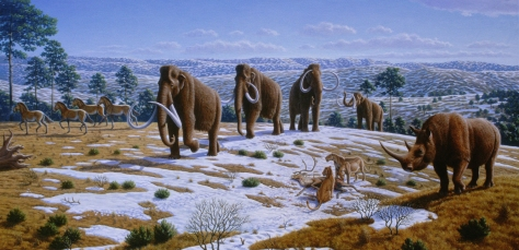 MENDEL'S  LAWS  OF  INHERITANCE  VS  HUMAN  EVOLUTION :  DARWINISM  CANNOT  EXPLAIN  EITHER  THE  EMERGENCE  OF  NEW  SPECIES  OR  EXTINCTION  OF  OLD  SPECIES.  NATURAL  FACTORS,  NATURAL  CONDITIONS,  NATURAL  MECHANISMS ,  AND  NATURAL  CAUSES  CANNOT  FULLY  ACCOUNT  FOR  EXTINCTION  OF  THE  LARGE-BODIED  ICE  AGE  MAMMALS  SUCH  AS  WOOLLY  RHINOCEROS,  WOOLY  MAMMOTHS, MASTODONS, AND  SABERTOOTH  CARNIVORES .