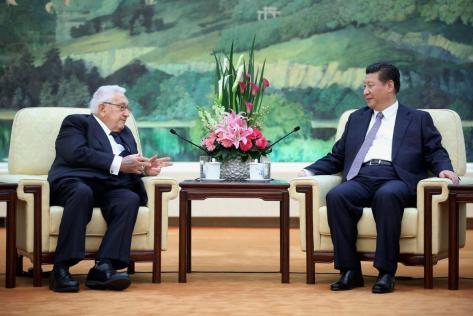 #WHOLEVILLAIN  -  WHOLEVILLAIN  -  WHOLE  VILLAIN  -  HISTORY  OF  THE  US-TIBET  RELATIONS :  MARCH  17,  2015 .  GREAT  HALL  OF  THE  PEOPLE  IN  PEKING(BEIJING).  DR  HENRY  ALFRED  KISSINGER  WITH  CHINESE  PRESIDENT   XI  JINPING .  I  AM  ASKING  MY  READERS   TO  RECOGNIZE  THE  FACE  OF  #WHOLEVILLAIN  IN  HISTORY  OF  THE  US-TIBET  RELATIONS  .