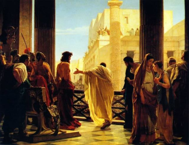 #SENIORALIEN  -  #GOODFRIDAY  -  WHOLE  PATIENCE :  THE  TRIAL  AND  EXECUTION  OF  JESUS  ON  GOOD  FRIDAY .  IT  IS  A  LESSON  TO  HUMANITY  TO  KNOW  AND  UNDERSTAND  THE  QUALITIES  OF  PATIENCE  AND  ENDURANCE .  ROMAN  GOVERNOR  PONTIUS  PILATE  THOROUGHLY  SCOURGED  JESUS  AND  ASKED  PEOPLE  IF  HE  NEED  TO  PUNISH  MORE .