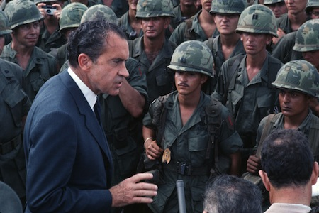 THE  EVIL  RED  EMPIRE  -  THE  FALL  OF  SAIGON  -  A  STORY  OF  DECEPTION . DURING  NIXON'S  PRESIDENCY,  20, 000 US  LIVES  LOST  IN  VIETNAM .