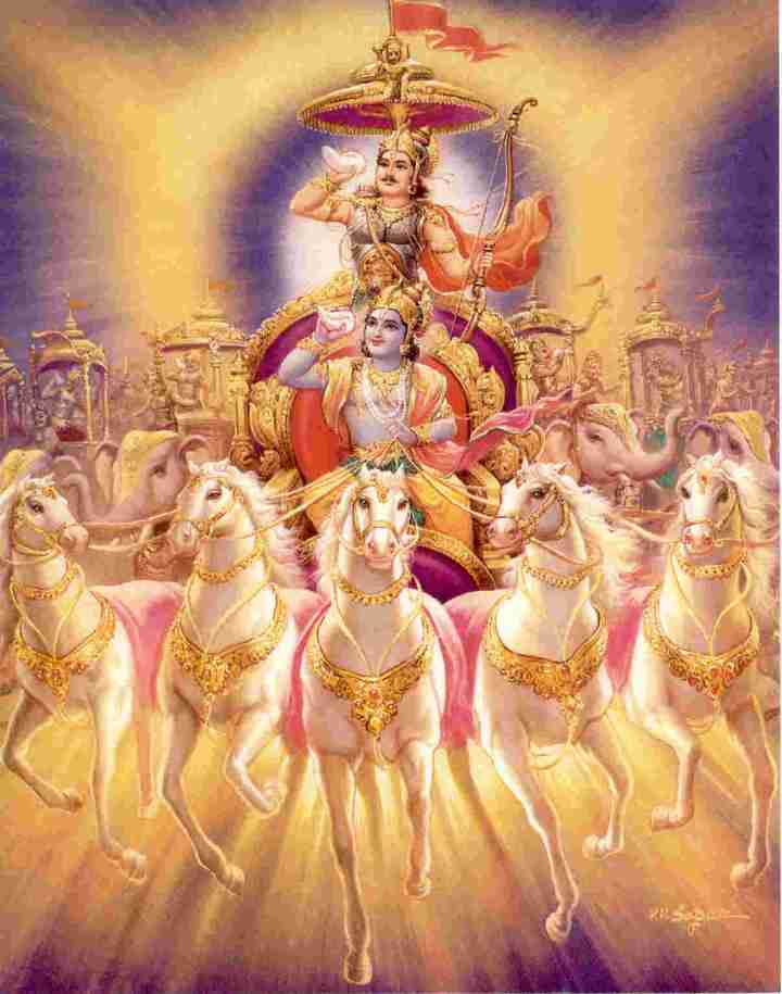 BHARAT DARSHAN - BHAGAVAN VED VYAS - AUTHOR OF GEETOPANISHAD. BHAGAVAD GITA IS A PRACTICAL GUIDE TO LIVE DAILY LIFE.