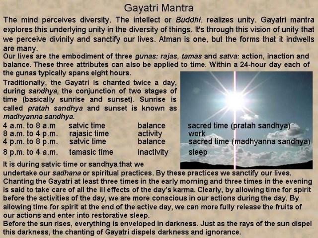 bharat darshan gayatri time for meditation