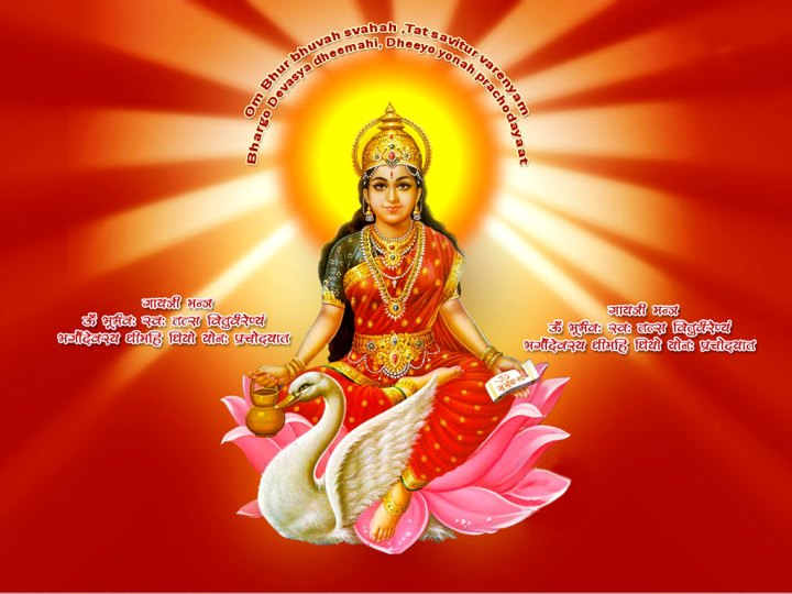BHARAT DARSHAN - ILLUMINATION OF INTELLECT - GAYATRI MAHA MANTRA. DIVINE SOURCE OF LIFE, MATTER, ENERGY, CONSCIOUSNESS, INTELLECT, KNOWLEDGE, AND WISDOM. MAN'S INHERITANCE FROM DIVINE MOTHER.