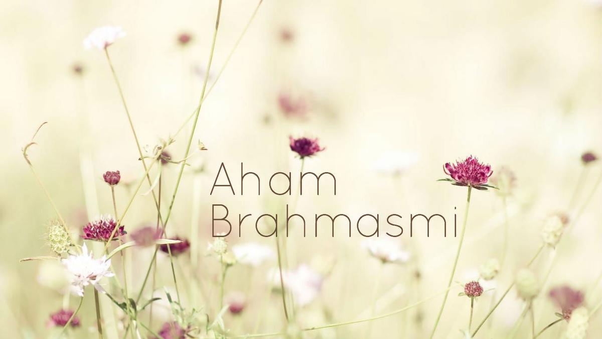 "LIGHT OF LIGHTS - ""TAT ASMI PRABHO"" - FIFTH MAHA VAKYA BY DR. SARVEPALLI ANANTHA PADMANABHA RAO."