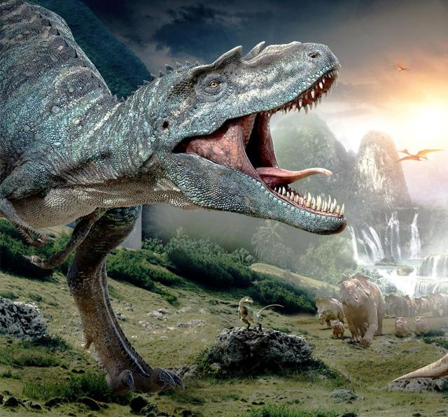BHARAT DARSHAN - LONG-LASTING VOLCANIC ERUPTIONS IN DECCAN TRAPS REGION OF INDIA MAY HAVE CAUSED EXTINCTION OF DINOSAURS. EACH DINOSAUR CREATURE LIVED AS INDIVIDUAL WITH INDIVIDUALITY.