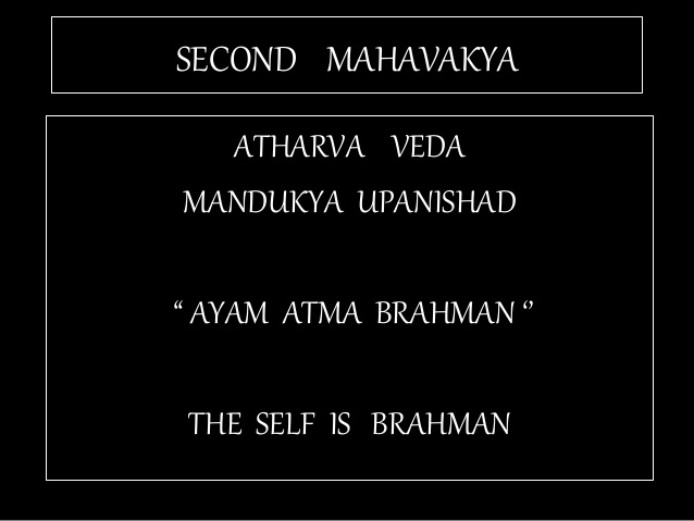 TAT ASMI PRABHO - CONSTITUTIVE AND REGULATIVE PRINCIPLES OF EXISTENCE. THIS UPANISHADIC APHORISM OR MAHAVAKYA SHARES CONSTITUTIVE PRINCIPLE OF MAN OR SELF. IT DOES NOT SPEAK ABOUT THE REGULATIVE PRINCIPLE THAT GOVERNS, RULES, OR OPERATES SELF OR MAN WHO HAS EXISTENCE IN PHYSICAL WORLD.