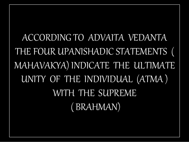 TAT ASMI PRABHO - FIFTH MAHAVAKYA - MATERIAL vs SPIRITUAL DUALISM. THE FOUR UPANISHADIC STATEMENTS FAIL TO ACCOUNT FOR MATERIAL vs SPIRITUAL DUALISM. THEY FAIL TO ACCOUNT FOR EXISTENCE OF A PHYSICAL LIVING ENTITY CALLED MAN.