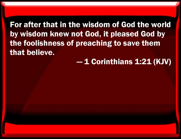 NEW YEAR GREETINGS - WISDOM TO GUIDE IN 2016. I SEEK WISDOM FROM 1 CORINTHIANS, CHAPTER 1, VERSE 21.