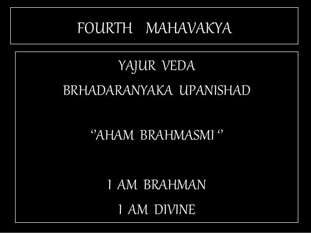 Tat asmi Prabhu - Fifth Mahavakya - Animate vs Inanimate Dualism. The separation of Man into perishable Body and Imperishable Soul is flawed.
