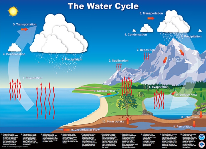 TAT ASMI PRABHU - FIFTH MAHAVAKYA - ANIMATE VS INANIMATE DUALISM. WATER CYCLE INVOLVES BOTH ANIMATE AND INANIMATE MATTER.