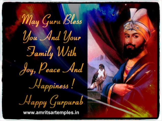 ... friends to wish them Happy guru Gobind dev singh ji Jayanti/Birthday