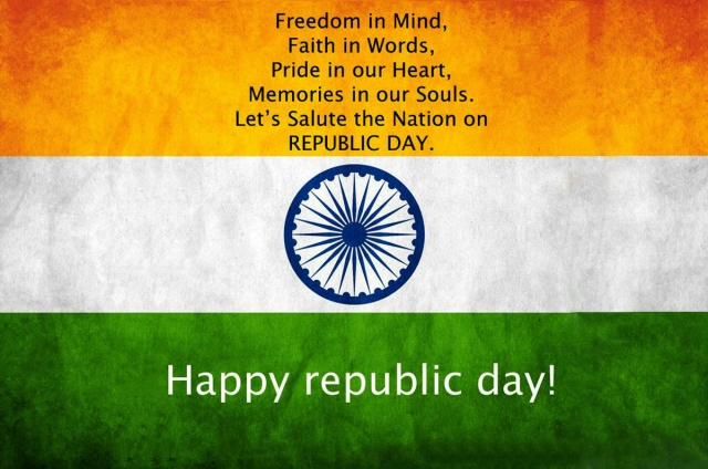 Bharat Darshan - 67th Republic Day Greetings - Blessings of Freedom in Mind.