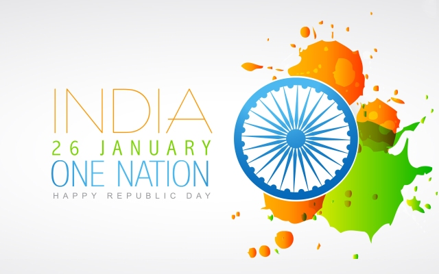 Bharat Darshan - 67th Republic Day Greetings - ONE NATION UNDER GOD.