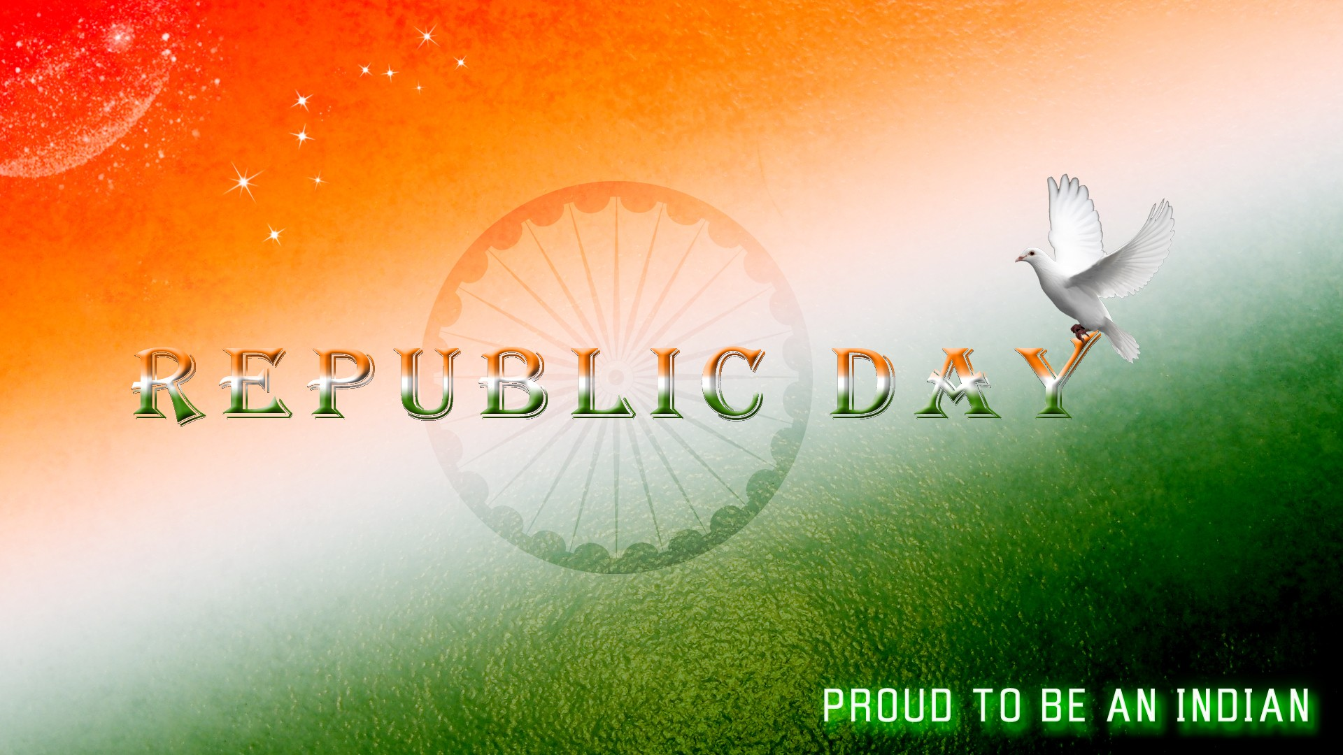 Bharat Darshan - 67th Republic Day Greetings - PROUD TO BE INDIAN