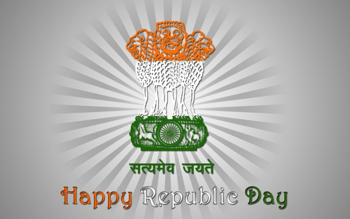 BHARAT DARSHAN - 67th REPUBLIC DAY GREETINGS - TRUTH ALONE TRIUMPHS.