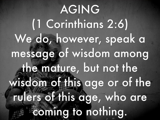 WISDOM FROM THE SPIRIT. NEW YEAR GREETINGS - WISDOM TO GUIDE IN 2016. I SEEK WISDOM FROM 1 CORINTHIANS, CHAPTER 2, VERSE 6.