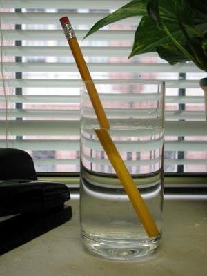 Amazing Pencil In The Water Illusion ~ AMAZING-ARTS
