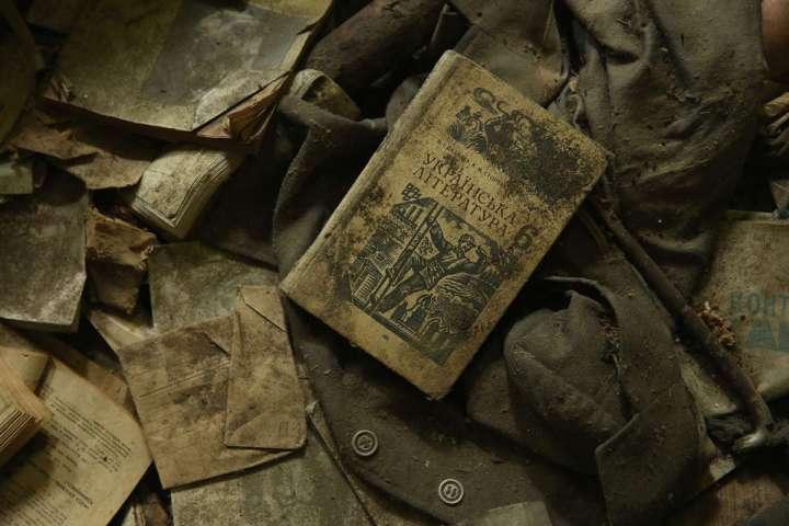 World Remembers 30th Anniversary of Chernobyl Disaster. Music School in ruins in abandoned Zalisya Village, Ukraine.