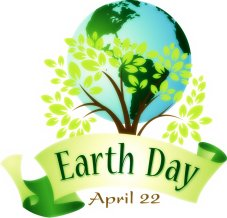 Earth Day April 22, 2017.