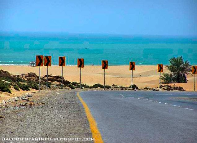 Special Frontier Force Supports Balochistan. Kund Malir Beach.