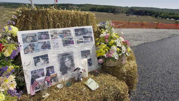 Remembering September 11, 2001. Can Terror Define Man? Scene from Shanksville, PA.