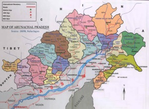 Arunachal Pradesh part of india