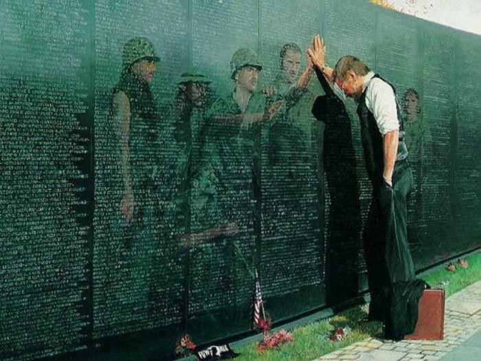 Vietnam War Memorial, Washington DC.