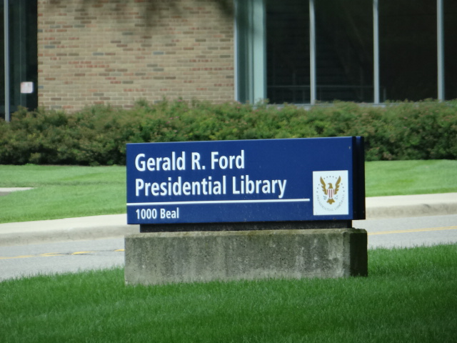 .: Gerald R. Ford Presidential Library in Ann Arbor, Michigan