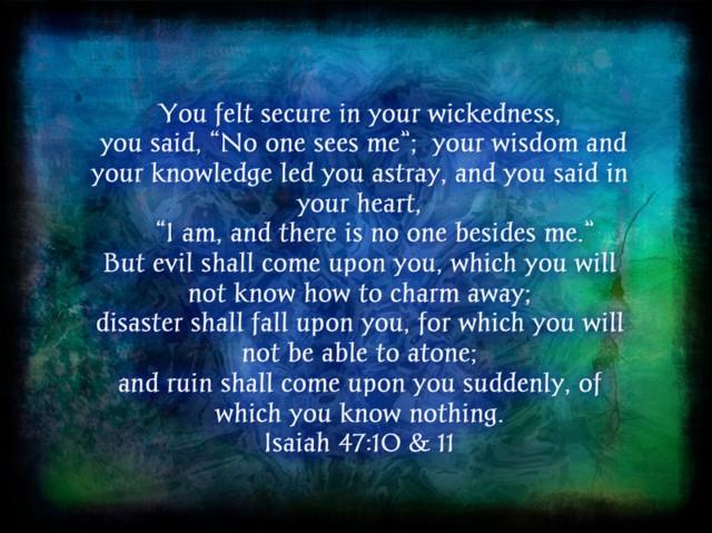 Wednesday, April 29, 2020. Prayers for the downfall of Evil Empire code-named Babylon. REVELATION, Chapter 18.
