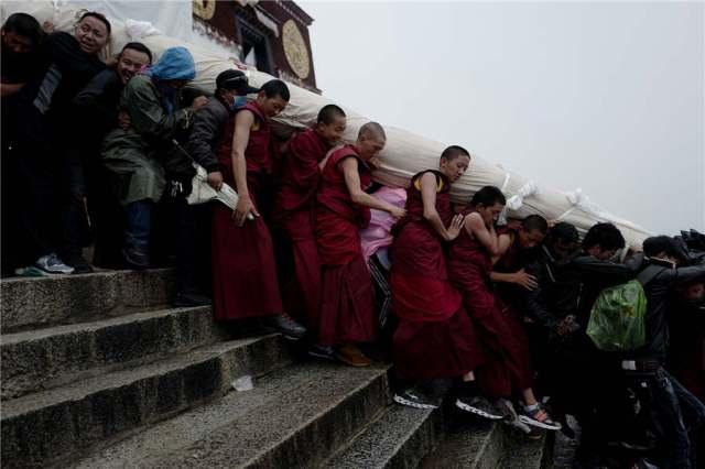 Buddha Stunned-Sunning of the Buddha-Occupied Tibet