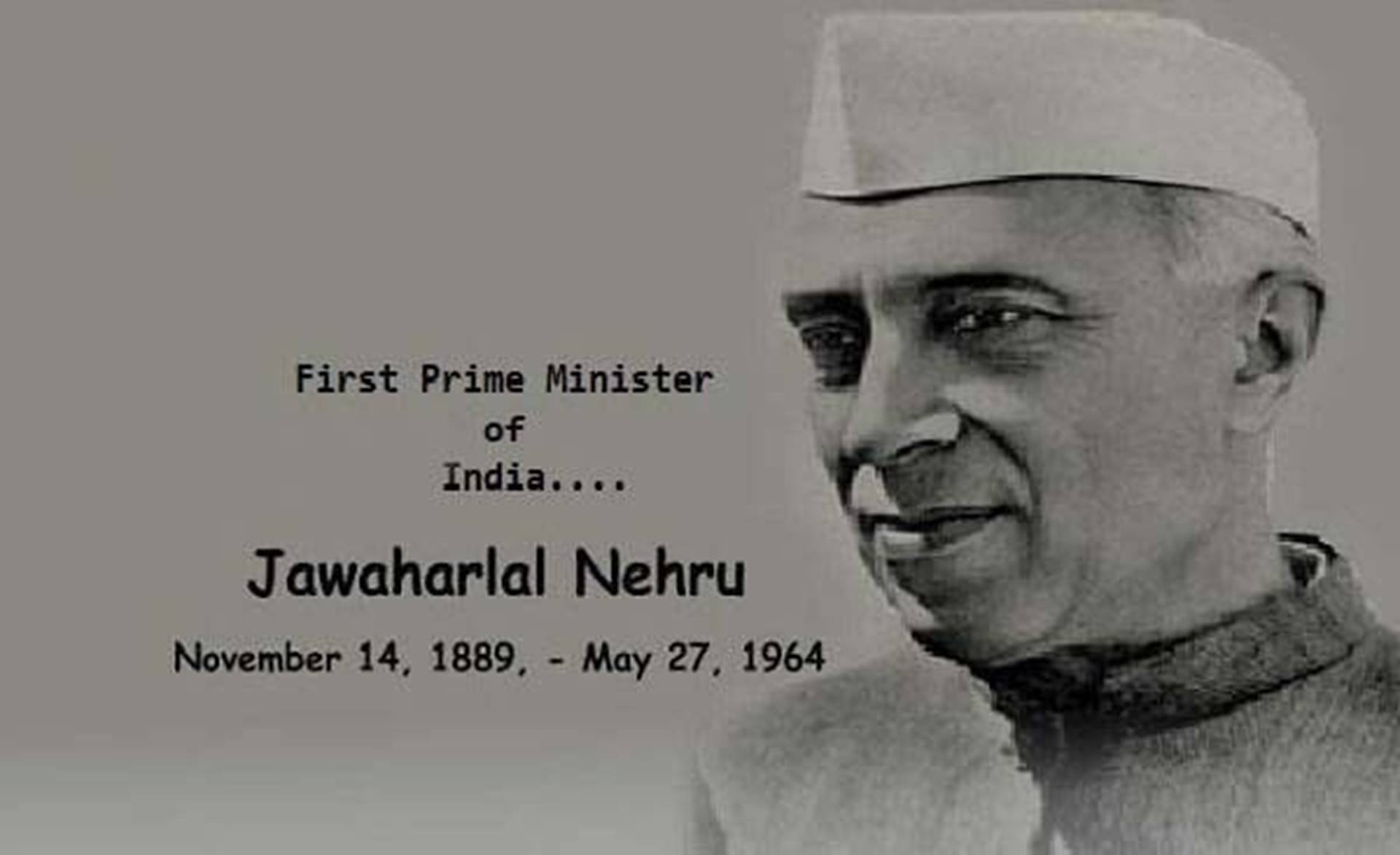 NOVEMBER 14, 1962 – FIRST PRIME MINISTER OF INDIA SHARES HIS